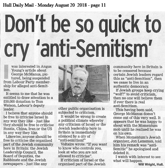 "Labour and ""antisemitism"""
